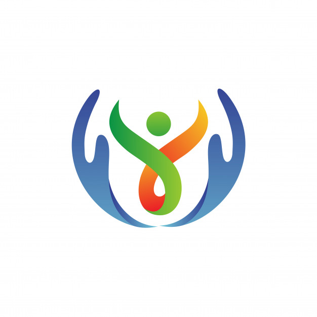 hand with people care logo vector 23987 269